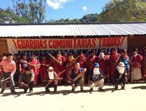 Conforma Ubisort guardias comunitarias en la zona Triqui