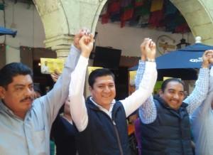 """El PRD va fortalecido y no requiere de """"chapulines"""" para ganar la elección 2015: Monterrey Velasco"""