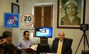 Buscan Fotomultas decremento de accidentes en la Capital: Javier Villacaña