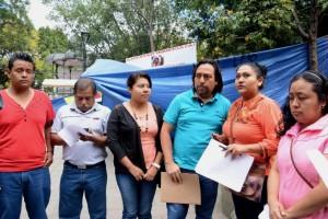 Señalan trabajadores del ayuntamiento de Zaachila despido injustificado