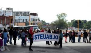 Emplaza STEUABJO estallamiento de huelga para el primero de febrero