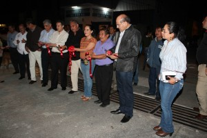 Entrega Villacaña obras de desarrollo social a los vecinos de Cinco Señores