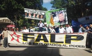 Marcha FALP para entregar pliego de demandas 2015