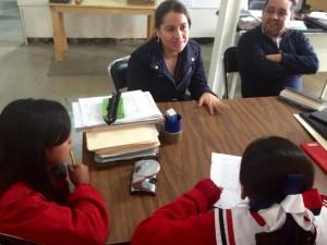 """Visita diputada Natividad Díaz escuela primaria """"Justo Sierra"""""""