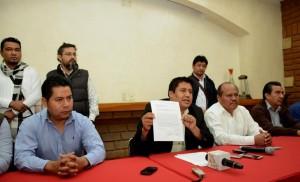 Anuncia Jefte Méndez renuncia a Nueva Alianza