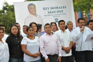 Busca Rey Morales, candidatura a la diputación federal por el distrito VIII