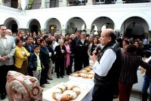Trabajadores delMunicipio capitalino festejan tradicional Día de Reyes