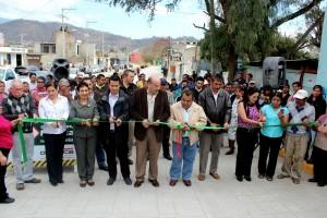 Mejora Villacaña, calles de la agencia de San Martin Mexicapam