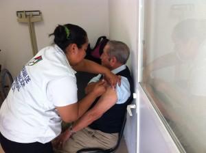 Este viernes, inicia DIF municipal campaña de vacunación  contra la Influenza Estacional