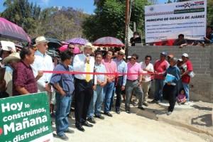 Beneficia Villacaña a más de mil habitantes de Santa Rosa Panzacola con drenaje sanitario y colector