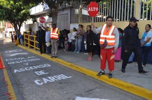 Suma municipio capitalino a más de 10 mil padres de familia  como promotores viales