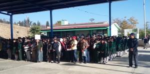 """Programa """"Promotores Viales"""" de municipio capitalino es reconocido por escolares y padres de familia."""