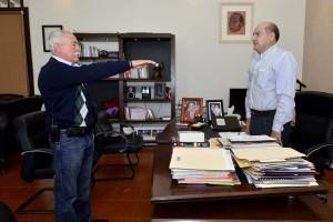 Designa Javier Villacaña a Ignacio Santillana como  nuevo Secretario de Servicios a la Comunidad