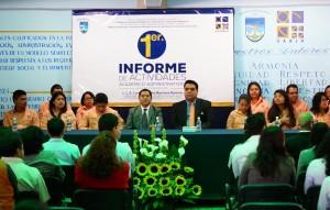 Presenta Director de ICEUABJO Primer Informe de Actividades
