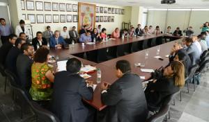 Avanzan Comisiones Unidas de Educación, Administración de Justicia y Presupuesto, en Reforma Educativa