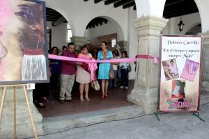 """Instalan exposición """"En el tiempo y el espacio siempre mujer"""", en el Palacio Municipal de Oaxaca"""
