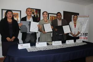 DIF Municipal y el IEEPO signan convenio de colaboración  para fomentar la continuidad académica