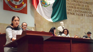 Pide diputada Antonia Natividad Díaz Jiménez derogación del artículo 124 del Código Penal