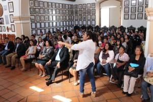 """Municipio capitalino realiza conferencia """"El Placer de Vivir y Ser Mujer"""""""