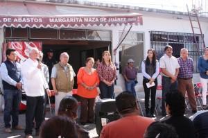 Realiza Ayuntamiento capitalino Jornadas de Saneamiento en la Central de Abastos